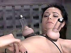 bdsm brunette fétiche mamelons