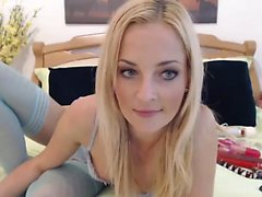 amateur blond masturbation solo bas