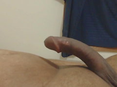 my cock bouncing up and down
