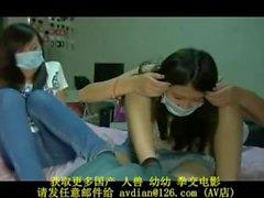 trabajando con el pie de nylon chino amateur pov pies japonés