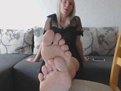 pliegue masturbarse mamá pies pie