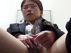 asiático dedilhado hd japonês masturbação