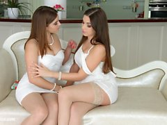 Morning Chill from Sapphic Erotica - Evalina Darling and