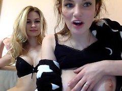amatööri blondi lesbo punapää webcam