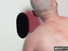 Big dick gay flip flop with facial