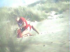 amateur babes strand publieke naaktheid