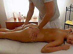 hot young blonde sex massage