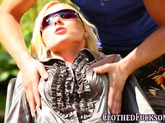 big cocks blondine blowjob doggystyle