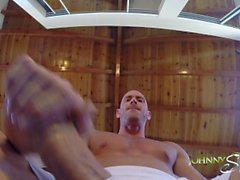Johnny Sins Jerks Off While doing Yoga