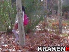 amateur nudité en public gros seins de plein air moulages