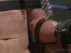 Jay Rising With a 10 Inch Fat Cock Gets Tortured - Scene 1