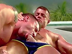 Speedo hunks flip-fuck