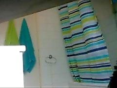 douches étudiante voyeur