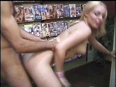 amateur anal cul blond