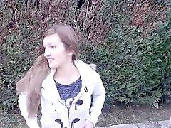 любительский милашка минет брюнетка на открытом воздухе