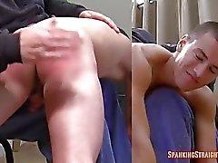 Matt's First Spanking (OTK)