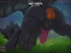 zonk punch How to Train Your Dragon