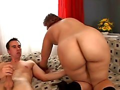 bbw cream pie roodharigen