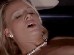 Extreme group intercourse in limo