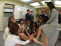 Jap Lesbian Office Freaks