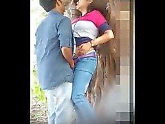 Indian Couple Hidden Forest Sex