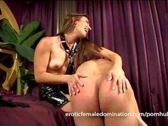 bdsm pliegue chiquita - sexo femenino cómoda que femdom