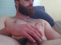 hot beard...hot cum