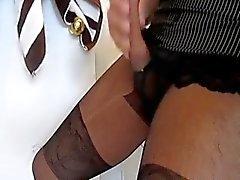 Nylon Masturbation 25