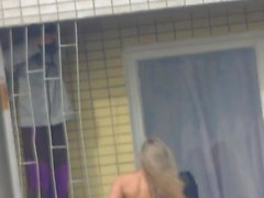 julkinen alastomuus piilotettu kamerat vilkkuu