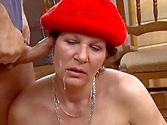 tyska tanter mognar gammal ung