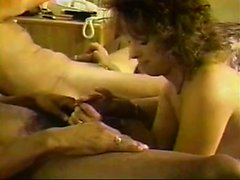 Interracial milf MMF threesome in hotel