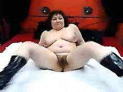 amateur bbw big boobs brünett fett