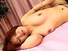 азиатский собачьи волосатый японский лизать