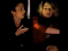 lesbiska bisexuella italienska kyssas hiss