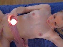 prazer rosa loiro adolescente