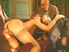 gangbang sexo vaginal peludo gozada vintage
