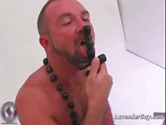 Josh Wests big meat stick gets hard