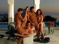 sexo em grupo sexo anal dupla penetração