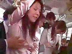 mamma madre japanese - degli autobus - rapporti sessuali tentare - on del bus