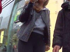 piilotettu kamerat lateksi iso peput spandex jooga