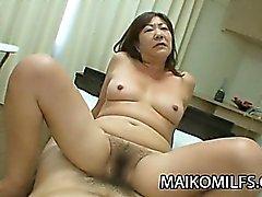 Hairy Pussy Japanese Granny