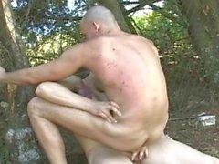 Hot Latino Gay Men Having Hardcore Barebacking Sex
