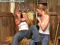 jeans lesbiana granja