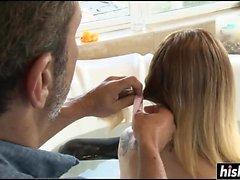 blondin avsugning fingersättning