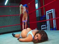 Tag Team wrestling Sex domination Fight
