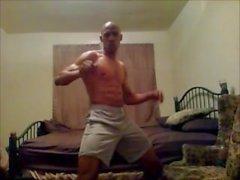 masculin - stripper la bande - la danse sexybodyhot eddie - de mitrailleuses eddiemachinegun