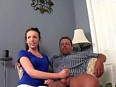 bébé brunette fétiche branlette