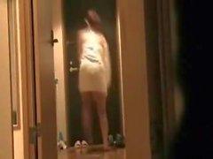 webbkameror amatör offentlig nakenhet voyeur