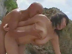 bbw offentlig nakenhet stora bröst japansk