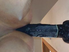 Balls Deep 13 inch Big Black Cock BBC Dildo